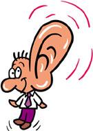 聞こえる耳