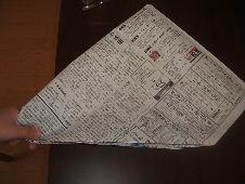 紙鉄砲の作り方